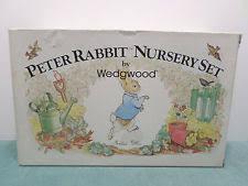 rabbit nursery set by wedgwood rabbit vintage original wedgwood china dinnerware ebay
