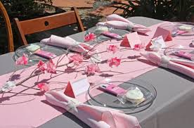 baby shower table settings pink and grey table setting a nod to both briar rose and aurora