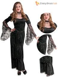 gothic halloween costumes gothic temptress teen vampire costume halloween fancy dress