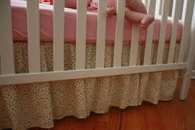 Crib Bedding Pattern The One With The Cupcakes The One With The Crib Skirt Tutorial
