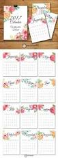 monthly planner 2014 template top 25 best 2017 calendar printable ideas on pinterest calendar 2017 monthly calendar watercolor floral set printable