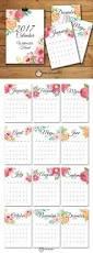 homemade planner templates top 25 best 2017 calendar printable ideas on pinterest calendar 2017 monthly calendar watercolor floral set printable