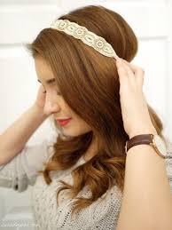 decorative headbands tutorial the 1 minute princess bun du jour