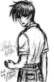 boy sketch by ehcie utada on deviantart