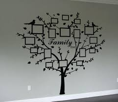 family photo wall art stickers wall murals you ll love family tree quote and decal frames wall art sticker