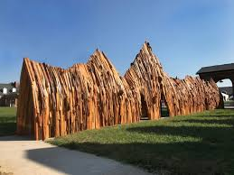 wood sculptures wood sculptures rooted in politics and philosophy