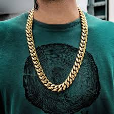 cuban link necklace images Miami cuban link necklace 19mm in yellow gold the gld shop jpg