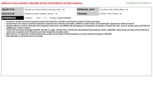 chemist resume objective david j howe resumecv lab informatics chemist http professor of