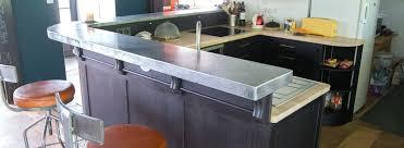faire plan de travail cuisine plan de travail cuisine en zinc vue de la cuisine faire plan de