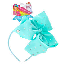 claires headbands jojo siwa mint rhinestone bow headband s us