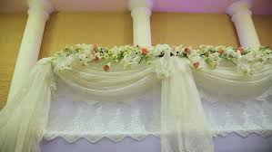 Wedding Hall Decorations Wedding Decorations With Flowers Interior Of A Wedding Hall