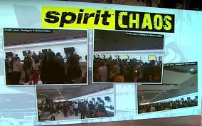 halloween city ft lauderdale chaos erupts at fort lauderdale airport after 300 spirit flights