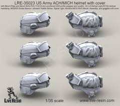 Tactical Helmet Light Us Army Ach Mich Helmet With Cover With Mount Plate And Mount Nvg