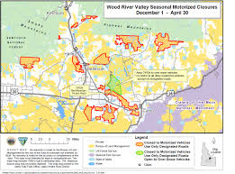 Elk Population Map Seasonal Closures Begin Dec 1 For Wood River Valley