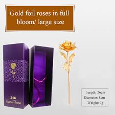 Gold Dipped Roses Aliexpress Com Buy Diy Decoration Flowers Craft Supplies Fake