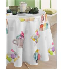 nappe cuisine plastique craquez sur pecher mignon ronde nappe toile cirée à 10 90