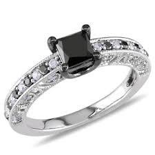 engagement rings with black diamonds black engagement rings shop the best deals for nov 2017
