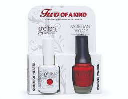 gelish morgan taylor two of a kind duos