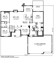 craftsman style house plan 3 beds 2 baths 2092 sq ft plan 70