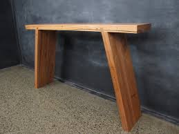 Narrow Hallway Table by Custom Timber Tables Melbourne Custom Made Tables Christian