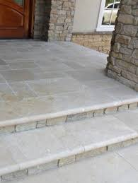 Front Steps Design Ideas How To Clad Concrete Steps In Stone Concrete Porch Natural