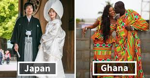 how traditional wedding look around the world 15 pics