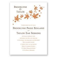 cheap fall wedding invitations cheap wedding invitations invitations by