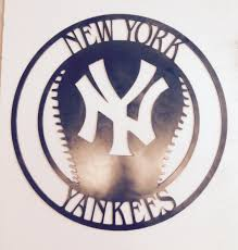 new york yankees home decor 28 images yankees wreath etsy 17 new york yankees metal decor home decor wall by