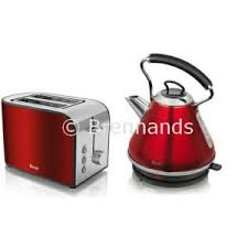Toaster And Kettle Set Red Brennands Swan Cream Pyramid Kettle And Toaster Set Townhouse