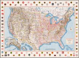 Railroad Map American Railroads Class I David Rumsey Historical Map Collection