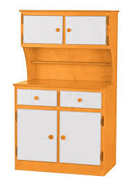 kitchen toy hutch amish handmade play pantry wood furniture two