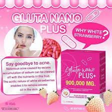 Gluta Nano gluta nano plus 900 000 mg anti aging and v shape white
