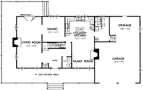 country kitchen floor plans all american country home 7300hs architectural designs house