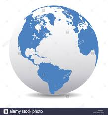World Map Globe by America World Earth Icon Globe Map Stock Photo Royalty Free Image
