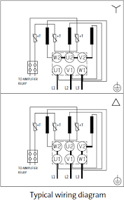 three phase motors wiring diagrams and markings of terminals