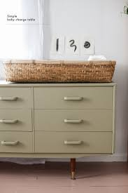 Basket Changing Table Simple Changing Table Blackbird