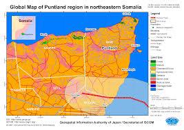 Map Of Somalia Cyclone In Puntland Region In Northeastern Somalia Nov 2013