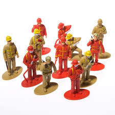 firefighter figurines us firefighter figurines 12 pack 162380481459 8 99