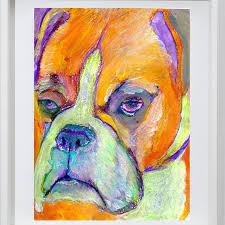 boxer dog art 288 best dog art images on pinterest dog art animals and dog