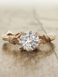 natural rings images Unique diamond engagement rings ken dana design tagged jpg