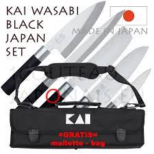 kai japan set kai wasabi black japanese knives