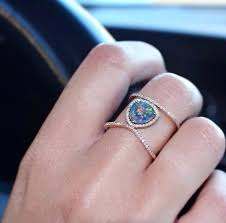 black opal engagement rings opal ring opal ring black opal engagement rings for sale