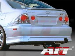 lexus is300 trd trd style rear bumper cover for lexus is300 2000 2005
