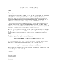 sample cover letter for report steps in writing a narrative essay