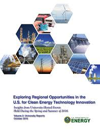 exploring regional opportunities in the u s for clean energy