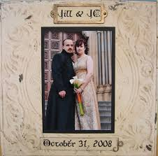 our wedding scrapbook frostygoth
