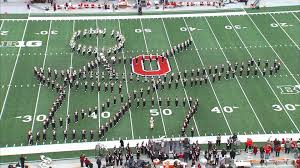 Ohio State University Map by Video Ohio State University Marching Band Classic Rock Halftime