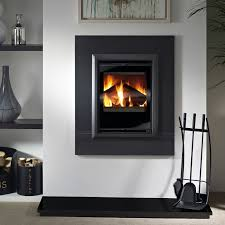 aquila 450 contemporary inset stove defra approved with agean