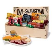 wisconsin cheese gift baskets dan the sausageman s favorite gourmet gift basket featuring dan s