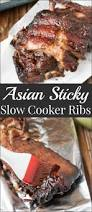 asian sticky slow cooker ribs oh sweet basil